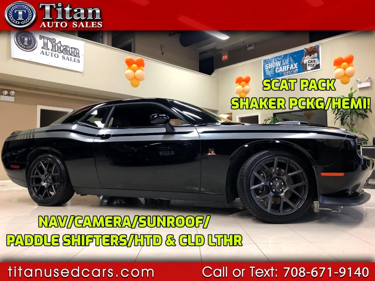 2017 Dodge Challenger 392 Hemi Scat Pack Shaker Coupe