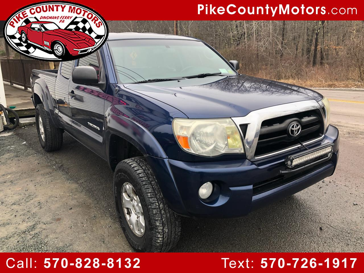 2008 Toyota Tacoma 4WD Access V6 MT (Natl)
