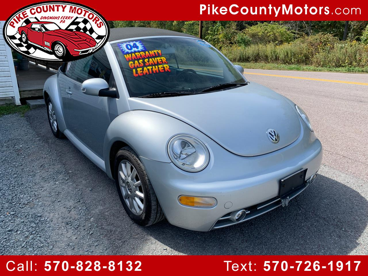 2004 Volkswagen New Beetle Convertible 2dr Convertible GLS Manual