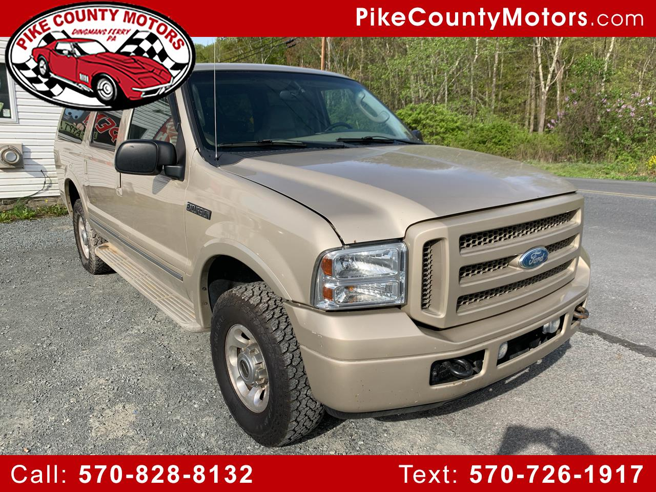 2005 Ford Excursion Limited 4WD
