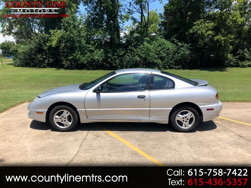 2004 Pontiac Sunfire Coupe w/1SV