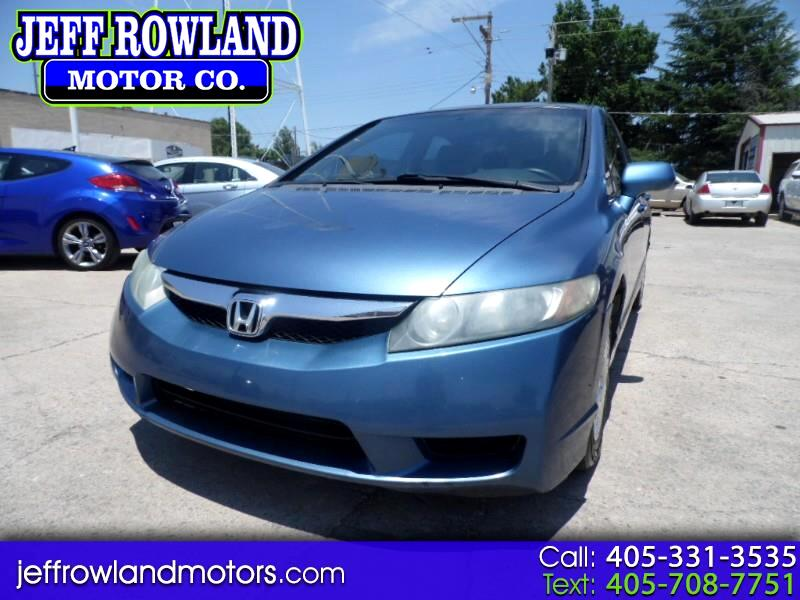 Honda Civic 4dr Sdn VP Auto 2010