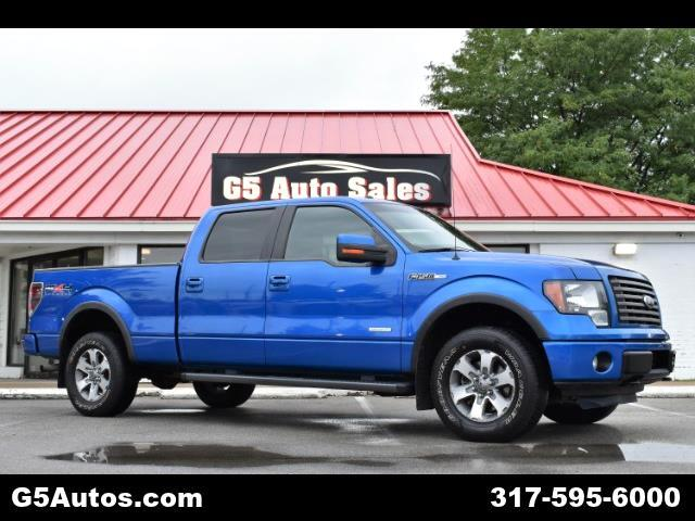 "2011 Ford F-150 4WD SuperCrew 157"" FX4"