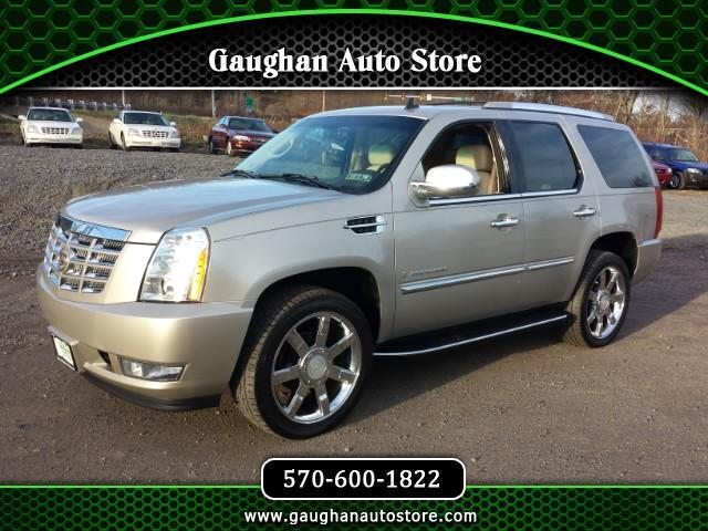 2008 Cadillac Escalade AWD 3RD ROW/REAR ENTERTAINMENT/ CAMERA