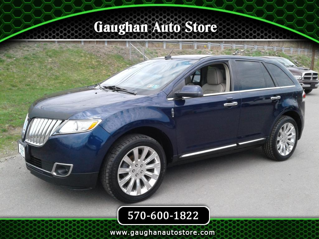 2011 Lincoln MKX AWD LEATHER/VISTA ROOF/NAVI/CAMERA