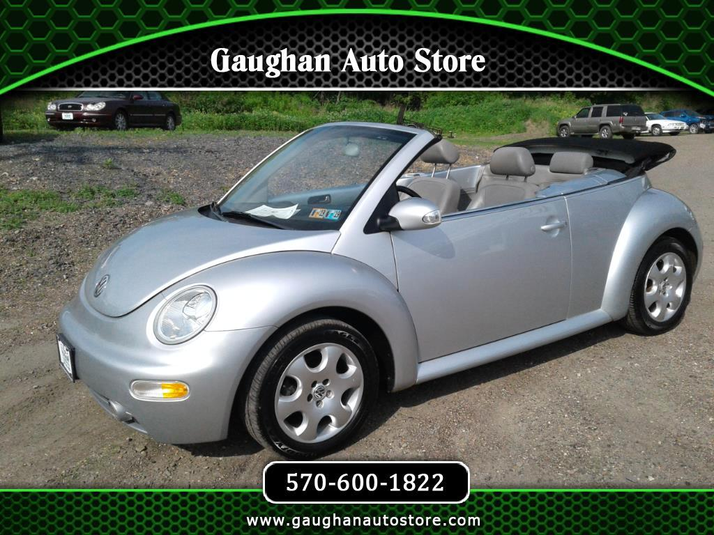 2003 Volkswagen New Beetle Convertible 2dr Convertible GLS Manual