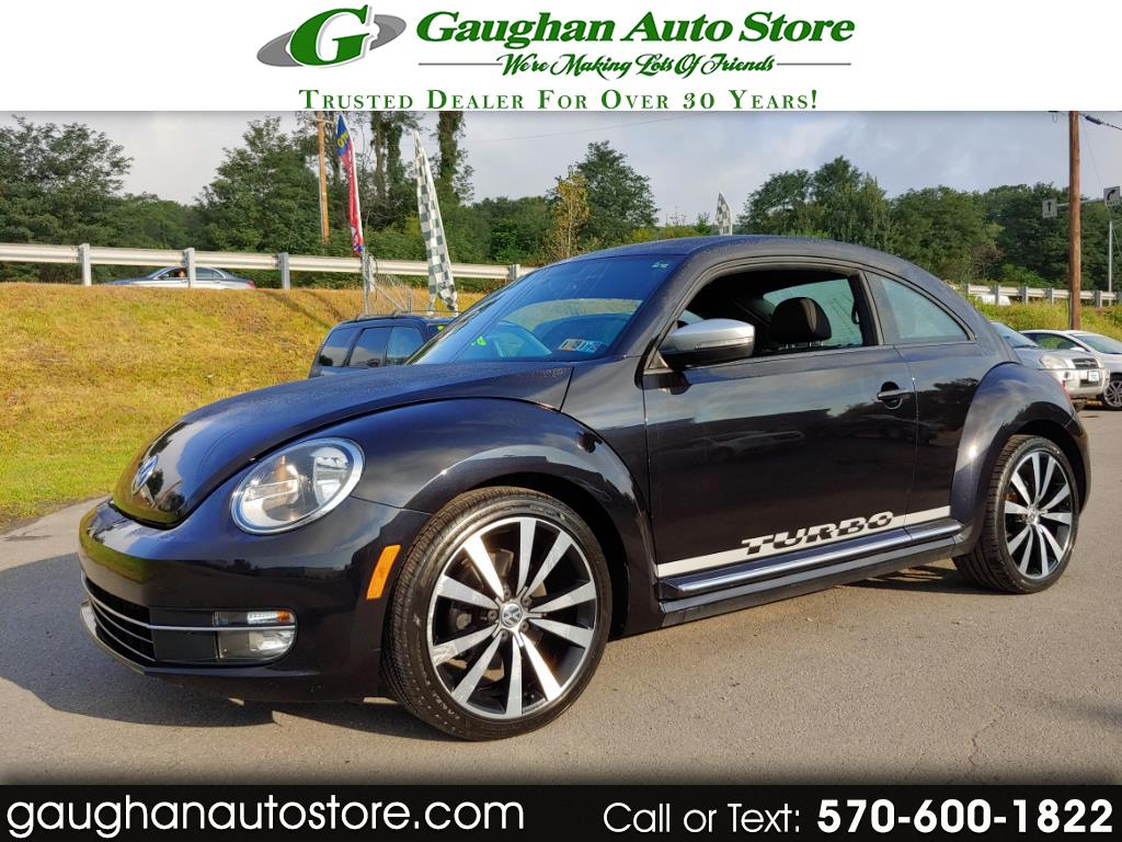 2012 Volkswagen Beetle 2dr Cpe DSG 2.0T White Turbo Launch Edition PZEV
