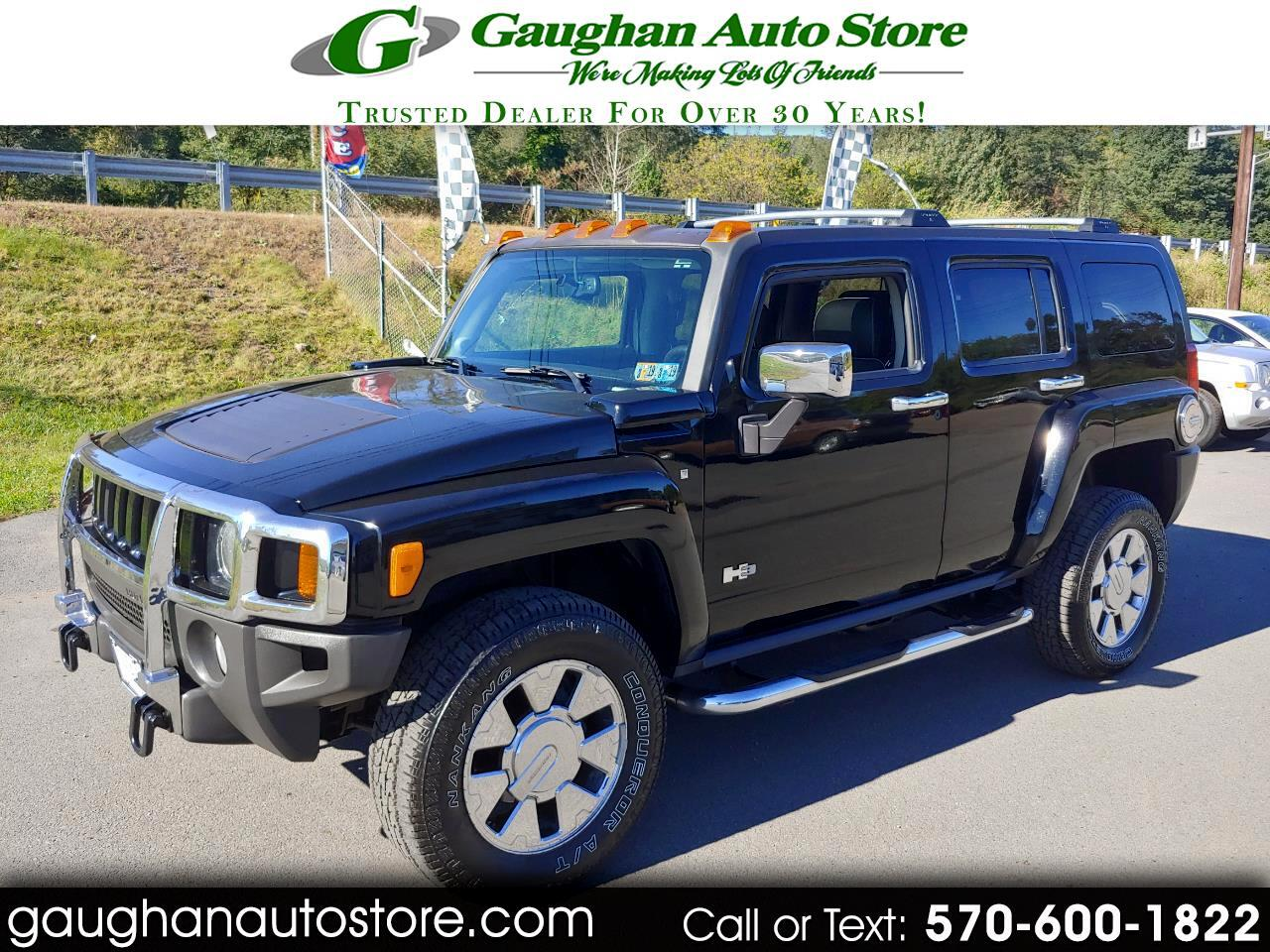 2007 HUMMER H3 4WD LEATHER MOONROOF