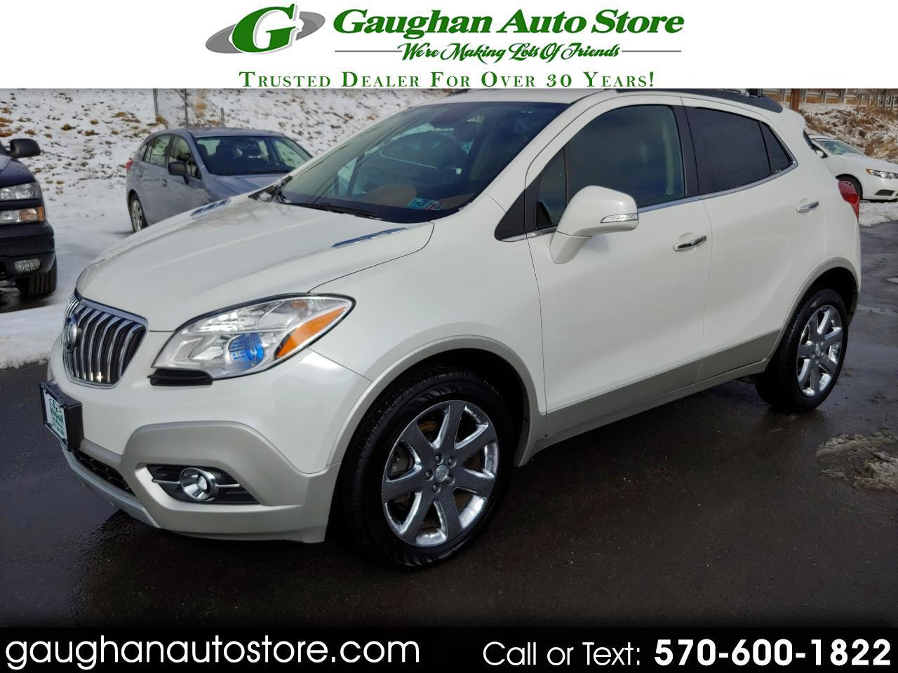 2016 Buick Encore AWD LEATHER/MOONROOF
