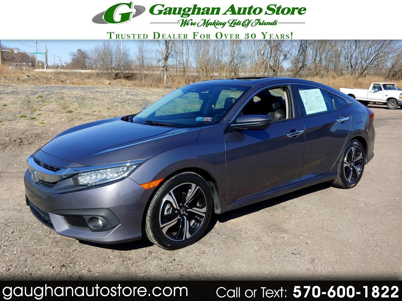 2016 Honda Civic Sedan TOURING EDITION  LEATHER/CAMERA/NAVI