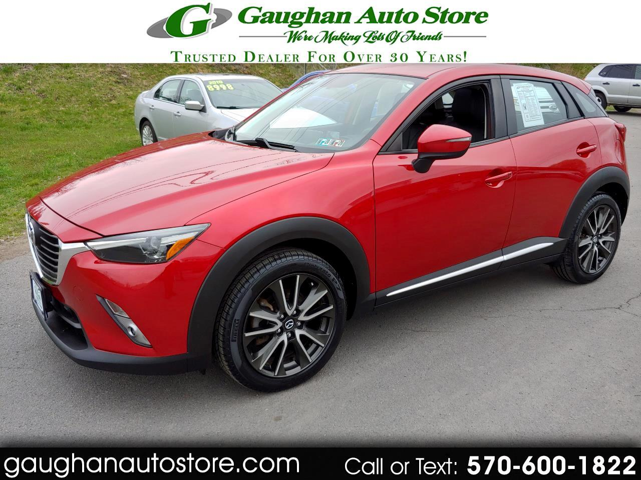2016 Mazda CX-3 AWD GRAND TOURING /LEATHER/CAMERA/MOONROOF