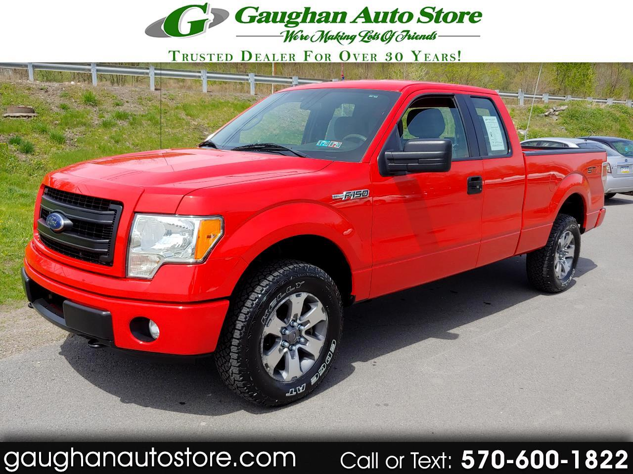 "2013 Ford F-150 4WD SuperCab 145"" STX"