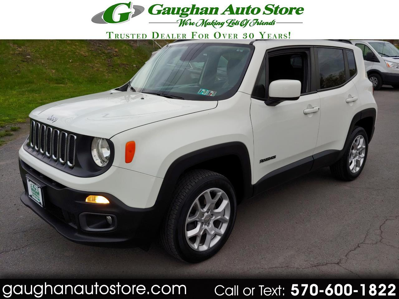 2015 Jeep Renegade 4WD LATITUDE  MOONROOF