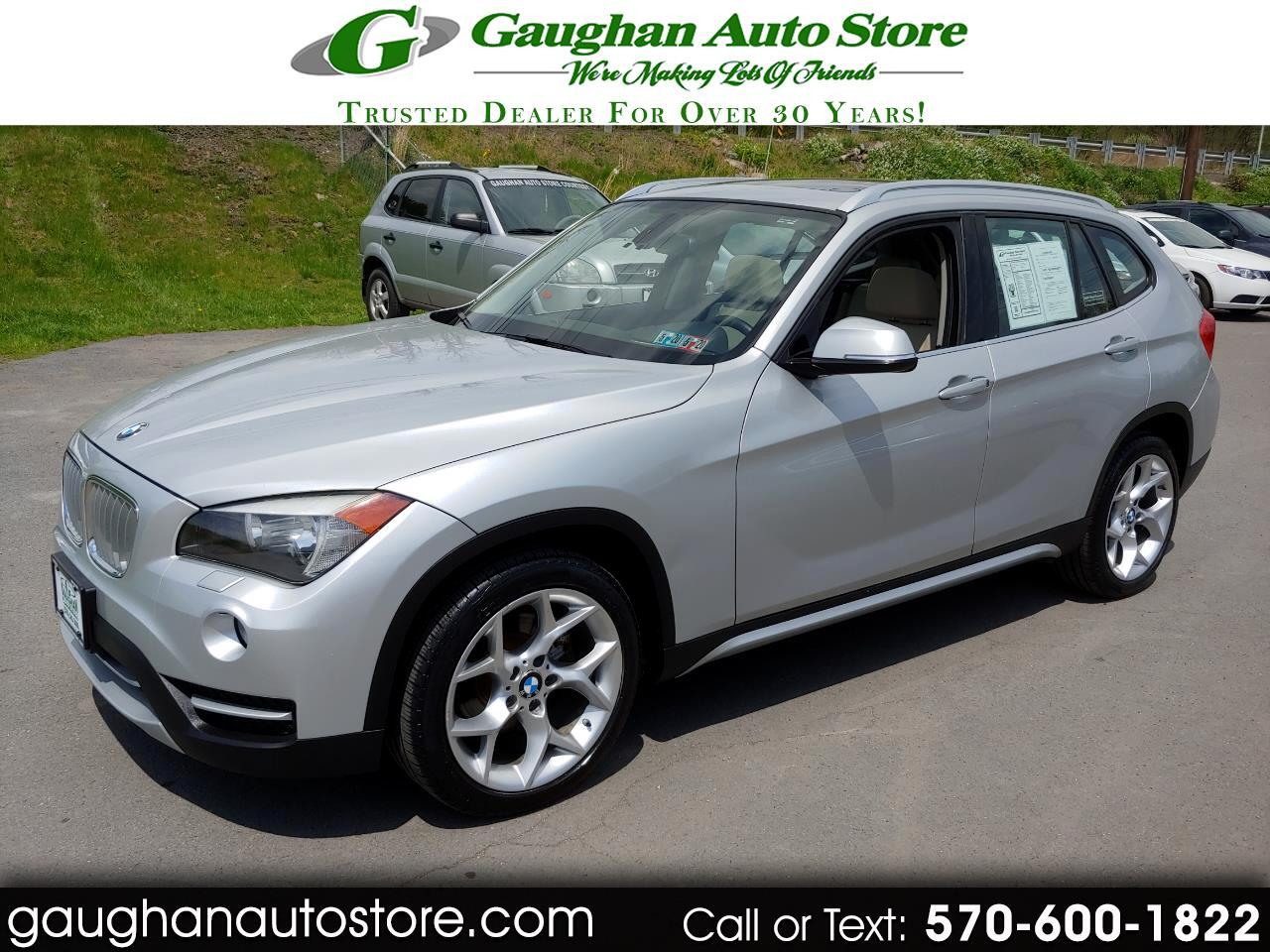 2014 BMW X1 AWD XDRIVE 28i  LEATHER/PANO ROOF
