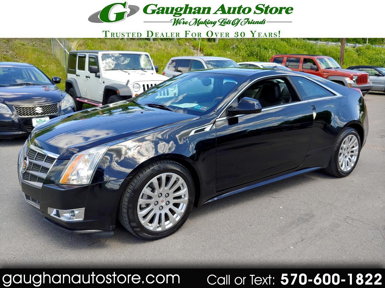 2011 Cadillac CTS Coupe AWD PREMIUM/LEATHER/MOONROOF/CAMERA/NAVI