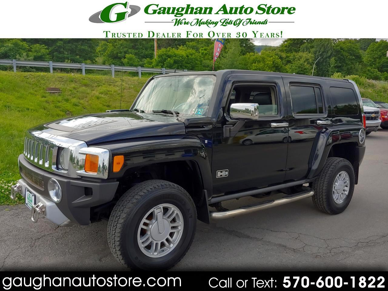 2008 HUMMER H3 4WD 4 DR. LEATHER  MOONROOF
