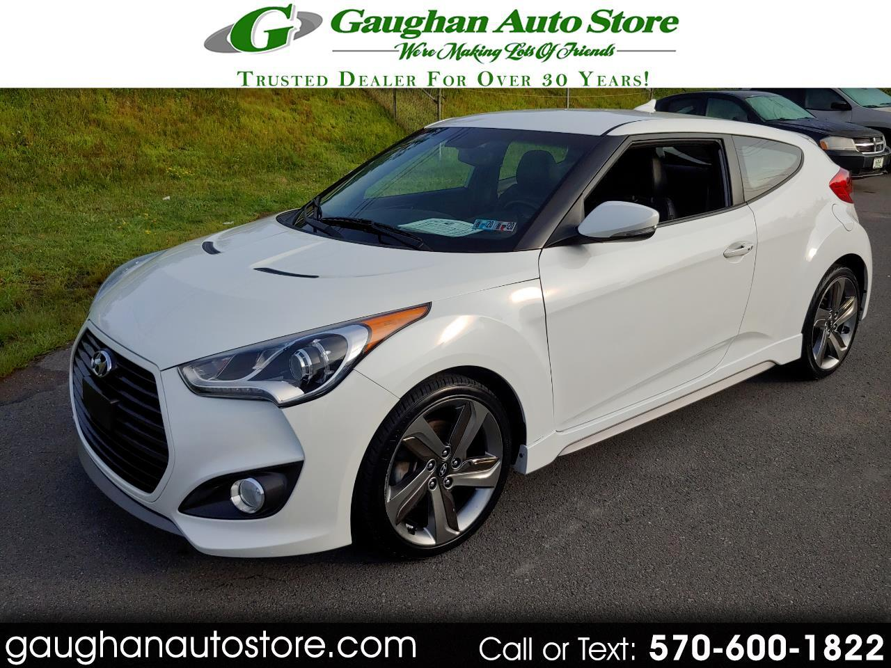 2015 Hyundai Veloster 3DR TURBO CP/HEATED LEATHER SEATS/CAMERA