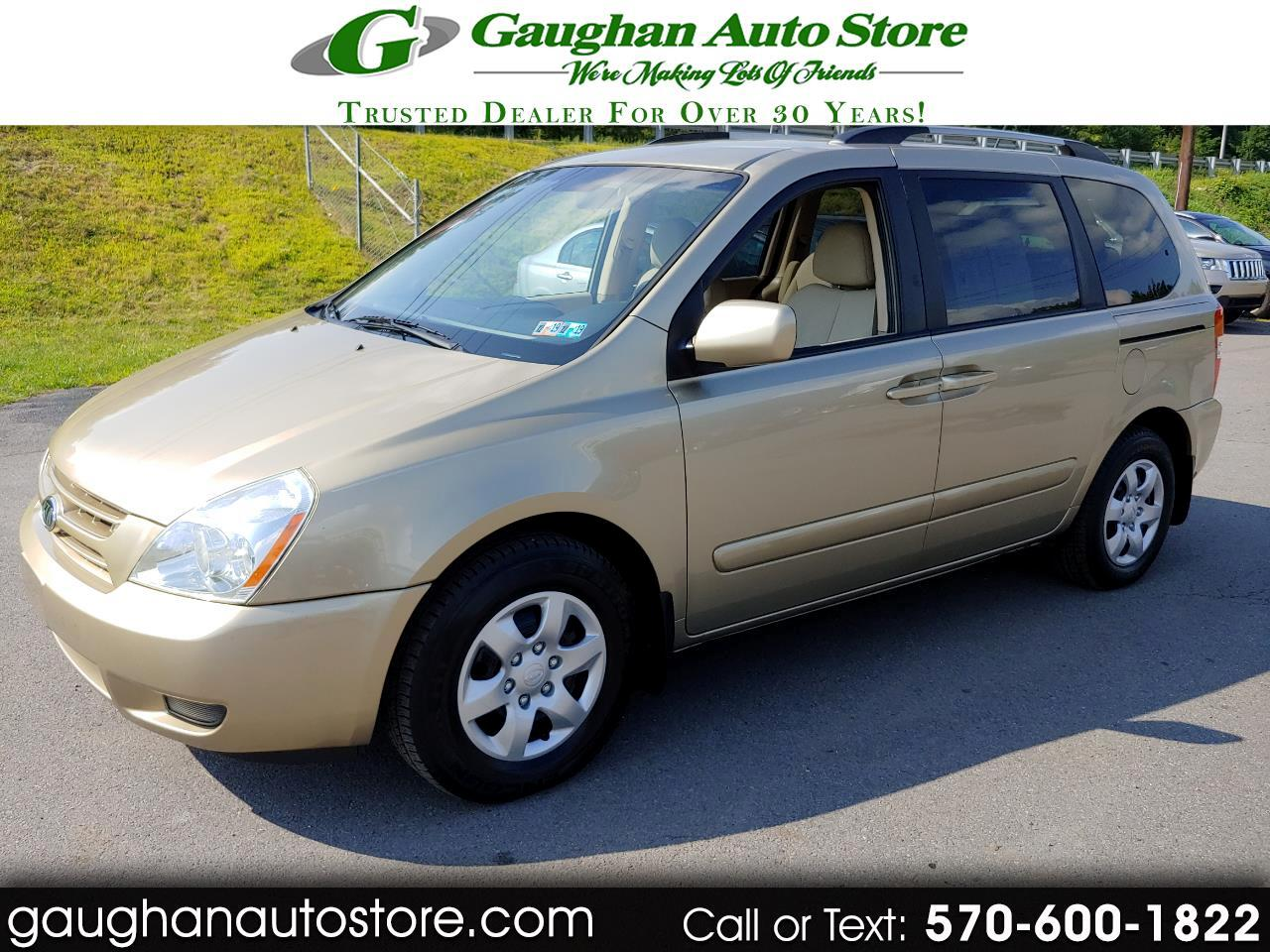 2009 Kia Sedona 4DR SWB  THIRD ROW SEATS