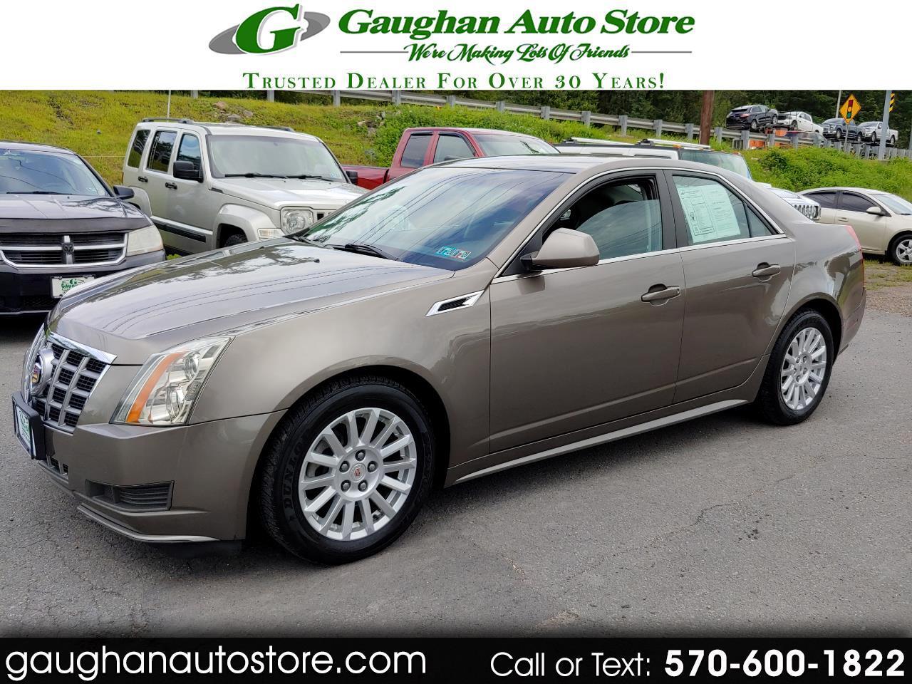 2012 Cadillac CTS Sedan AWD