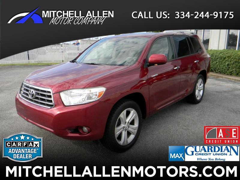 2008 Toyota Highlander 4dr V6 4WD Limited w/3rd Row (Natl)
