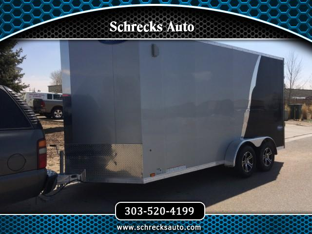 2019 Everlite 7x16 All Aluminum Tandem Axle Utility