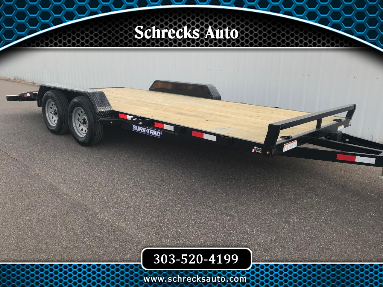 2019 Sure-Trac C-Channel Car Hauler
