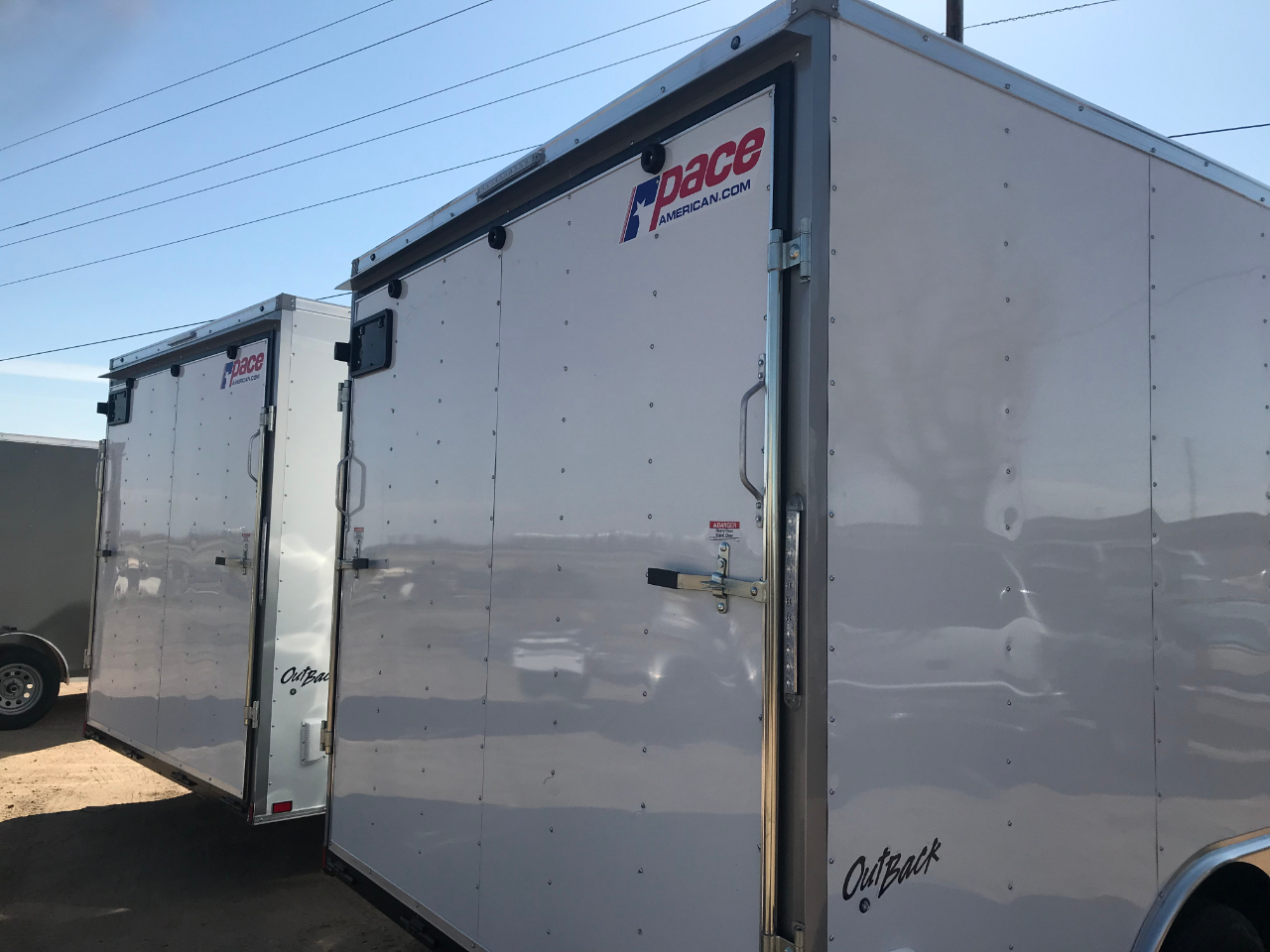 Pace American 8.5X16  2020