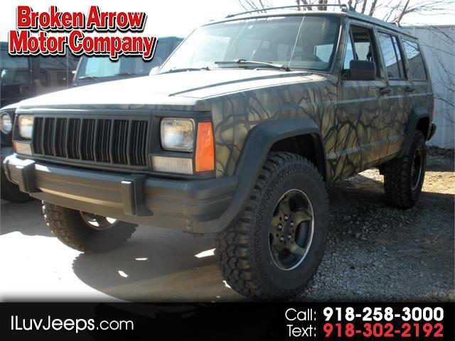 1996 Jeep Cherokee Country 4-Door 4WD