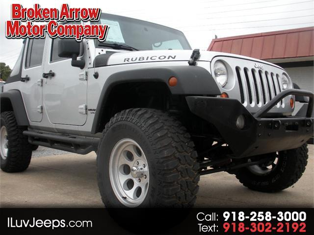 2007 Jeep Wrangler Unlimited Rubicon 4WD