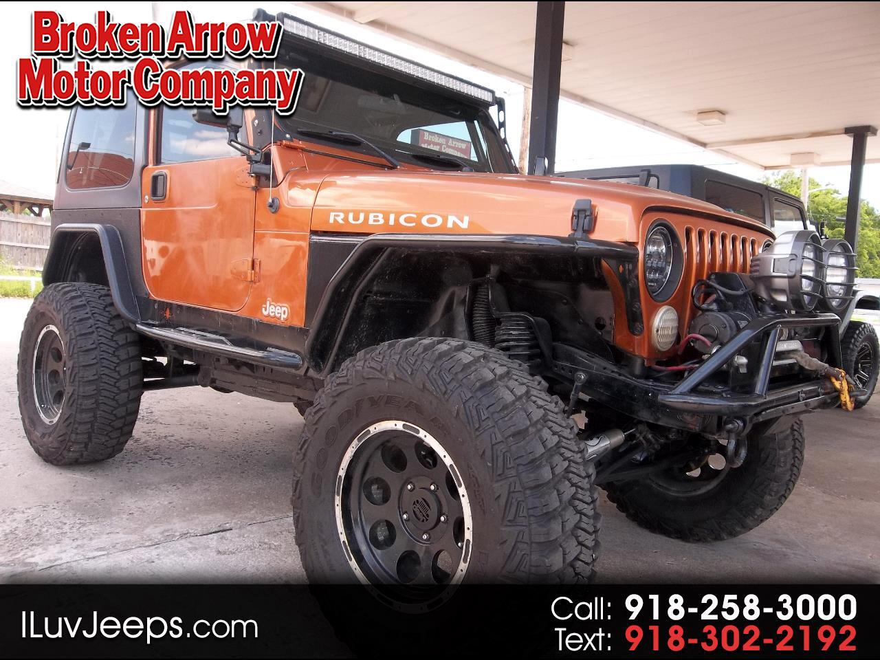 Jeep Wrangler Rubicon 2004