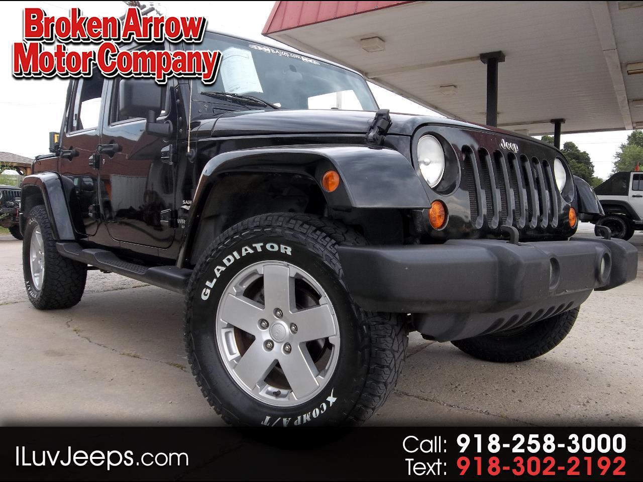 Jeep Wrangler Unlimited Sahara 4WD 2007