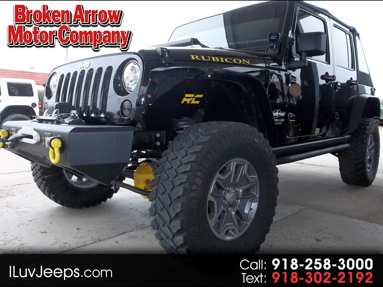 Jeep Wrangler Unlimited Rubicon 4WD 2017