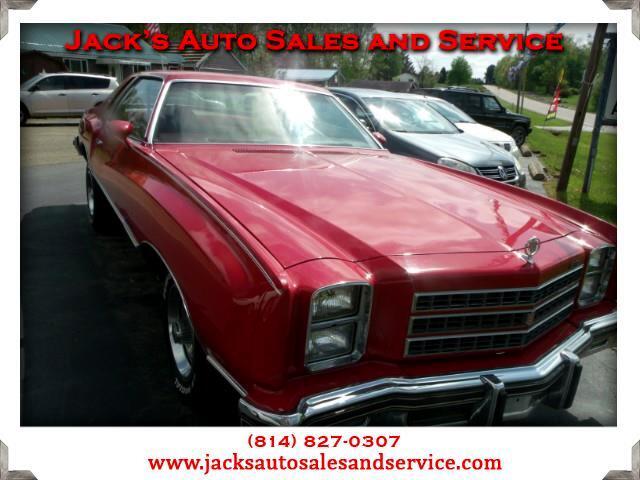 1976 Chevrolet Monte Carlo