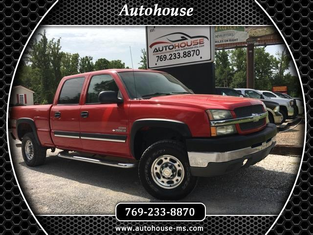 2003 Chevrolet Silverado 2500HD LS Crew Cab Short Bed 4WD
