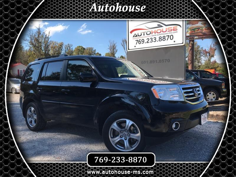 2013 Honda Pilot EX-L 2WD 5-Spd AT with DVD