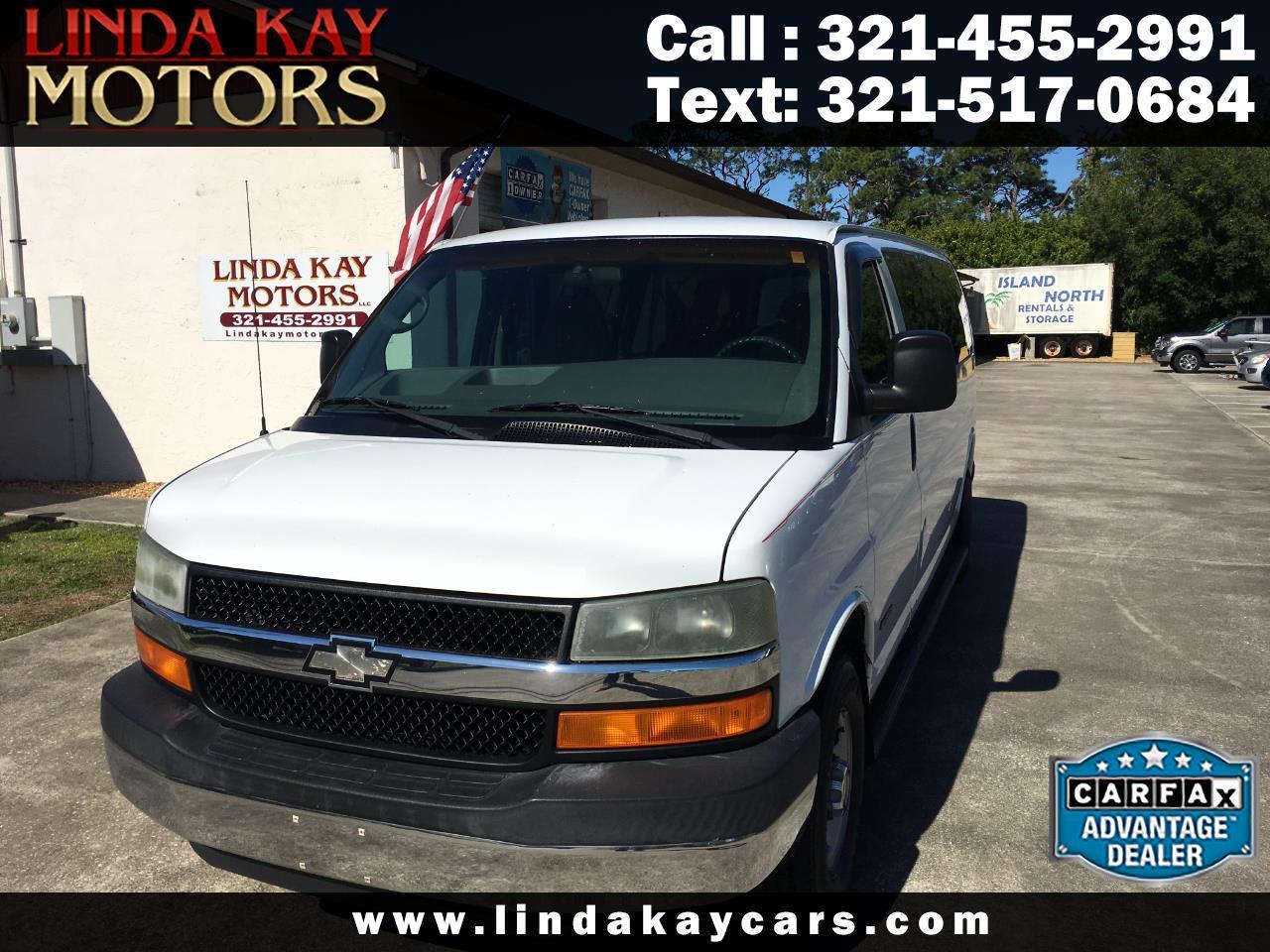 "2004 Chevrolet Express Passenger 3500 155"" WB RWD"
