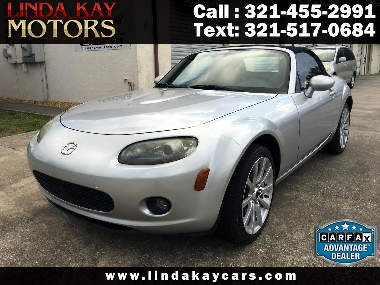 2006 Mazda MX-5 Miata 2dr Conv Grand Touring Manual