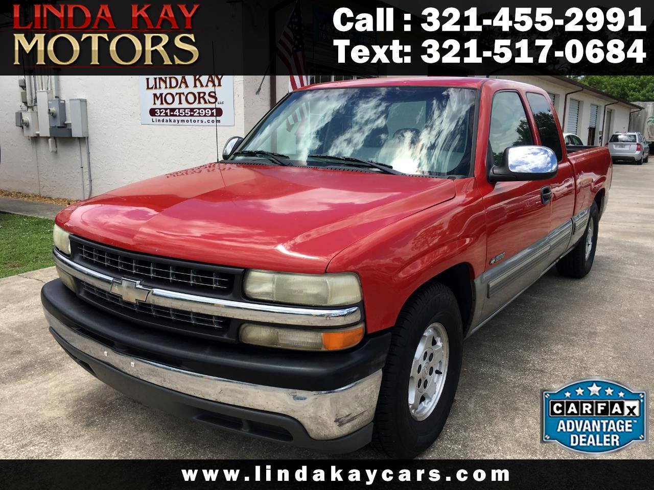"2000 Chevrolet Silverado 1500 4dr Ext Cab 143.5"" WB LS"