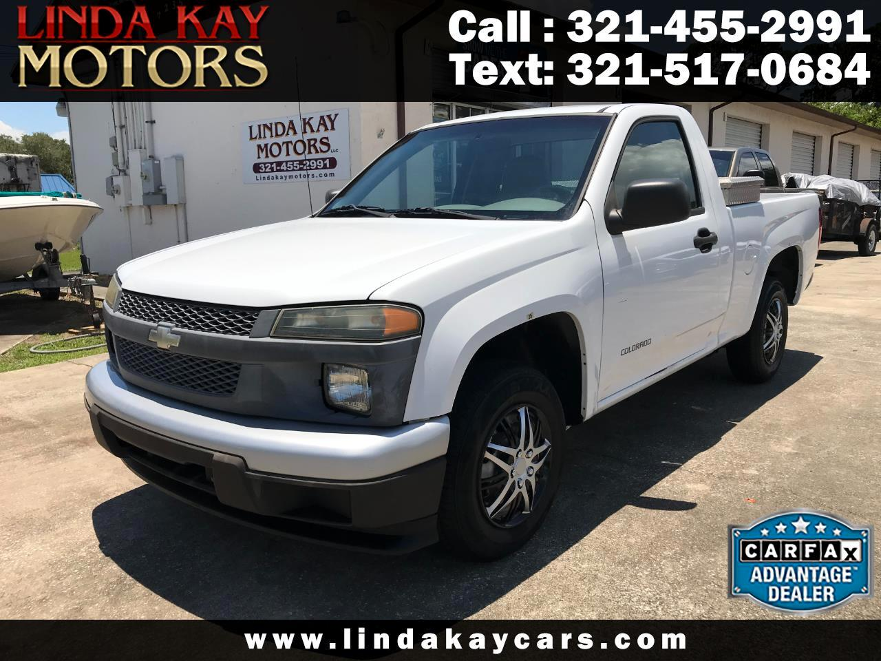"Chevrolet Colorado Reg Cab 111.2"" WB Fleet Z85 2005"