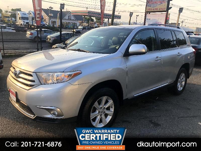 Toyota Highlander 4dr V6 4WD Limited (Natl) 2013