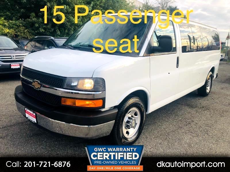 2016 Chevrolet Express LT 3500 Extended