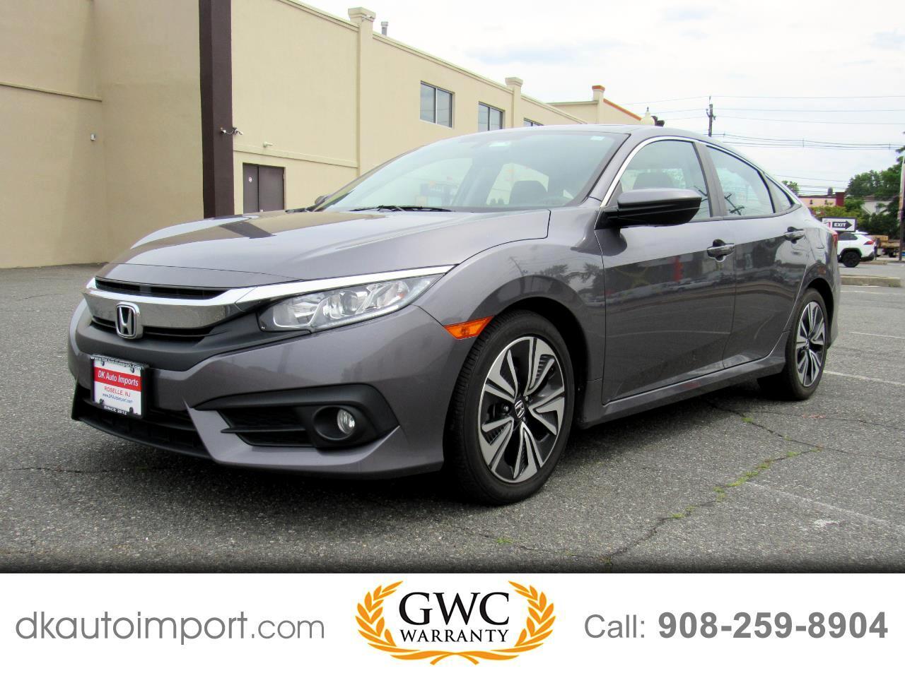 Honda Civic EX-TL Sedan CVT 2017