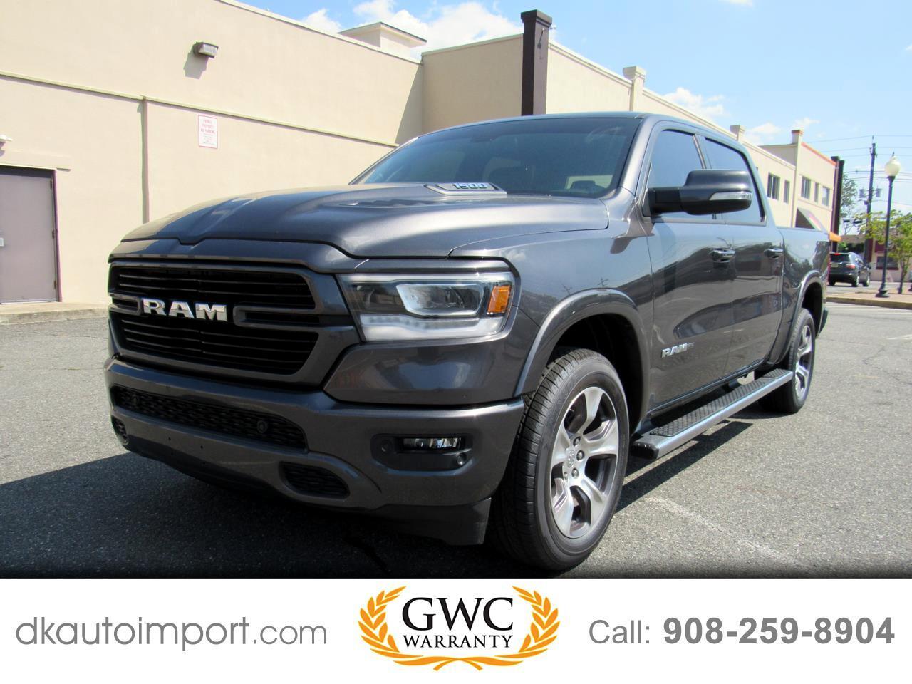 RAM 1500 Laramie Crew Cab SWB 4WD 2019