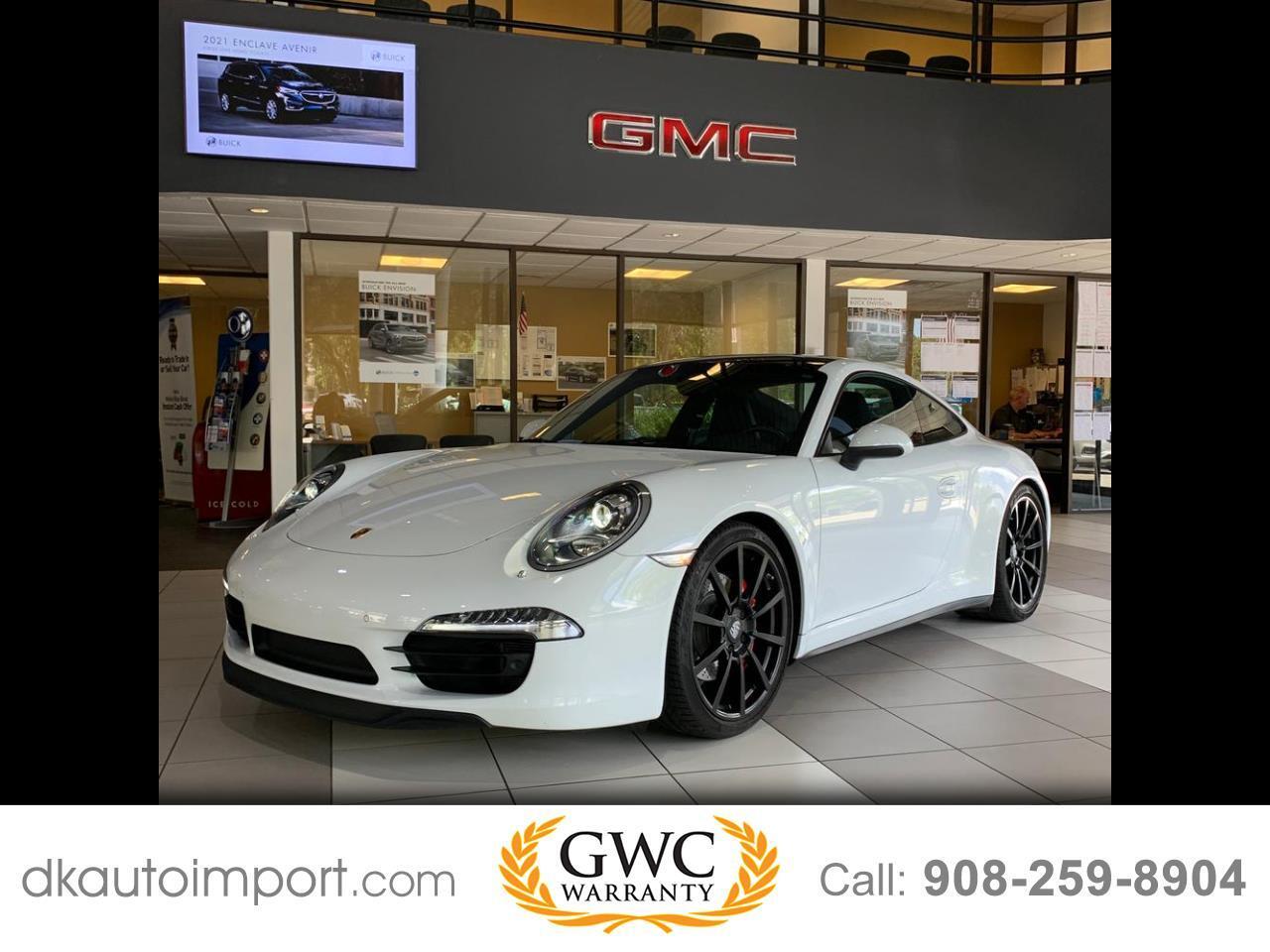 Porsche 911 Carrera S Coupe 2015