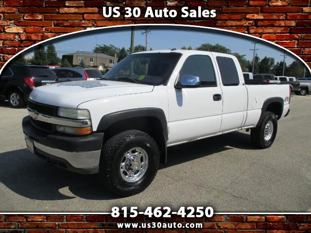 2002 Chevrolet Silverado 2500HD LT Ext. Cab Short Bed 4WD