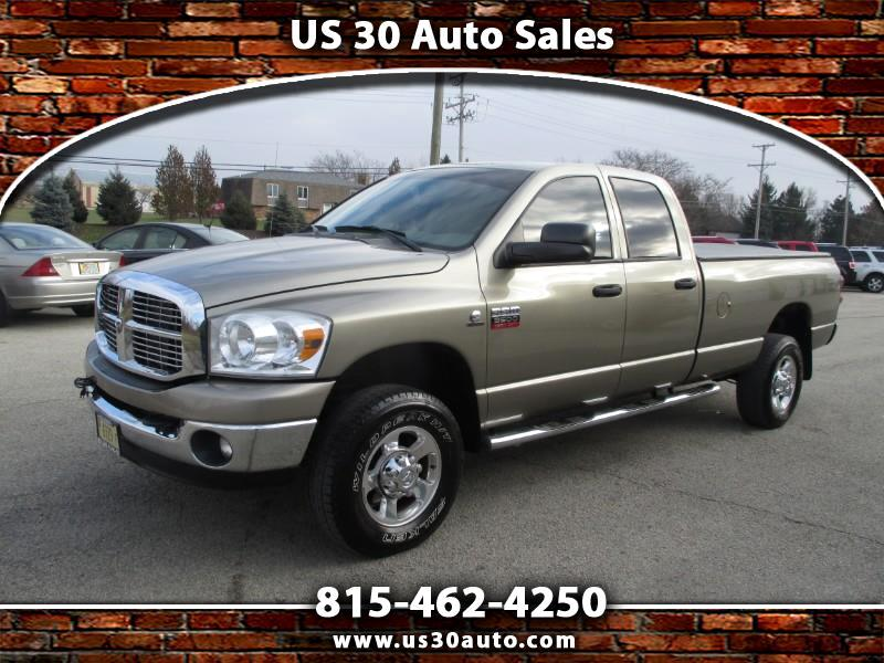 2008 Dodge Ram 3500 SLT Quad Cab Long Bed 4WD SRW