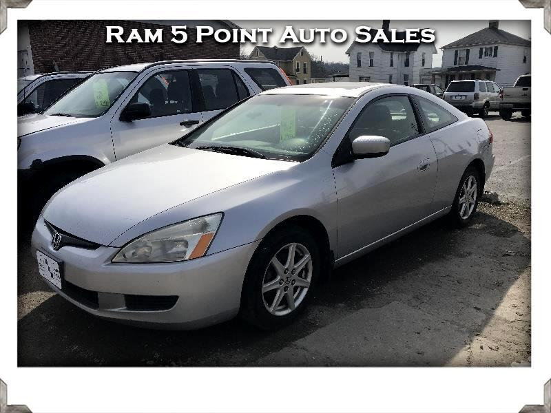 2003 Honda Accord EX V6 Coupe AT with Navigation System
