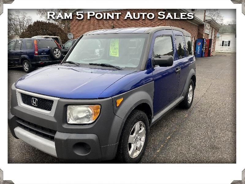 Honda Element EX 4WD 5-spd MT 2005