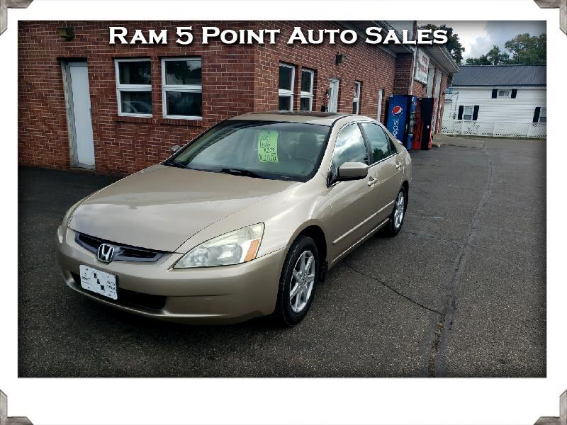 Honda Accord EX Sedan with Leather 2004