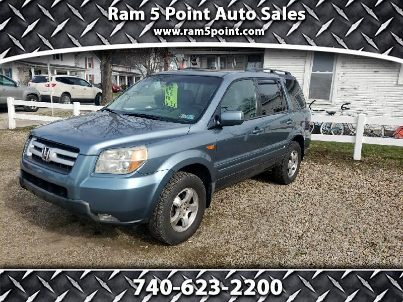 Honda Pilot EX 4WD w/ Leather and DVD 2006